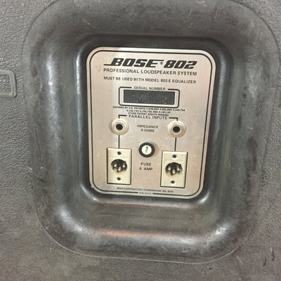 Bose 802 Passive Speakers (3)