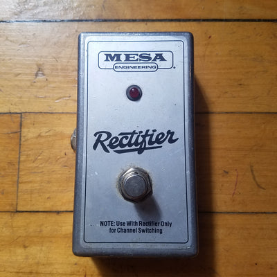 Mesa Rectifier Single Button Switch