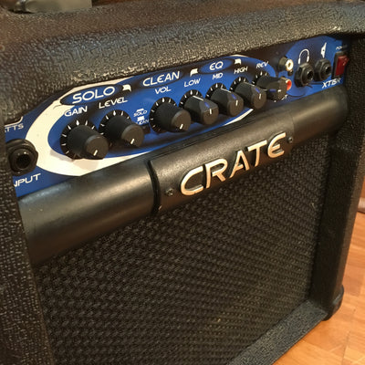Crate xt15r Combo Amp with Mods