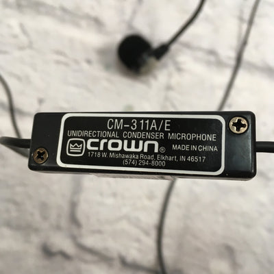Crown 311A/E Headset Microphone