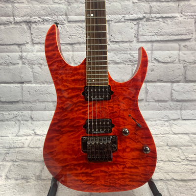 Ibanez RG920qm Liquid Inferno Finish WITH HSC