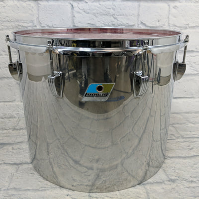 1970's Ludwig Stainless Steel Concert Tom 15""