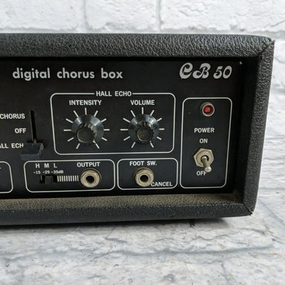 Rare Vintage Multivox CB50 Digital Chorus and Hall Echo Box 1970s