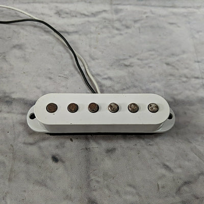 Unknown Single Coil Pickup White Cover