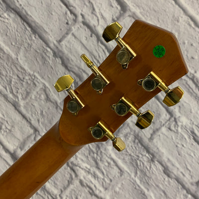 Ventura VJ1NAT Single Cutaway Acoustic Guitar
