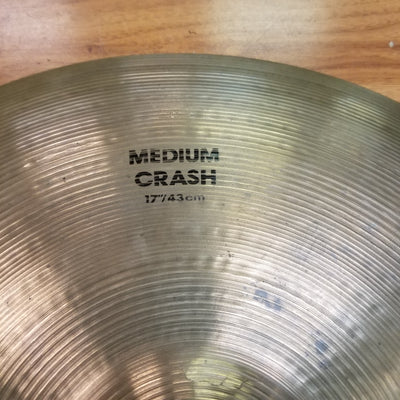 "Zildjian 17"" Medium Crash"