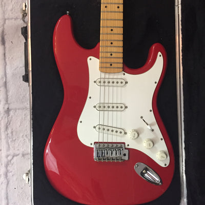 Lyon by Washburn LE-10 Electric Guitar Red