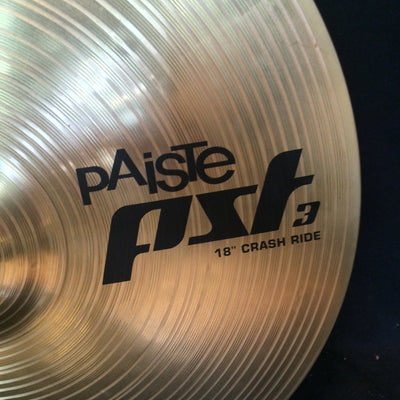 Paiste PST3 18in Crash Ride Cymbal