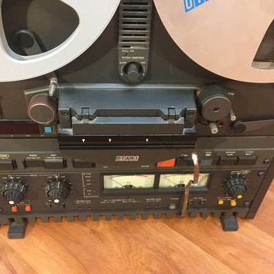 ** Vintage Otari MX5050 BII 2 Analog 1/4in 2/4 Track Reel to Reel Tape Recorder