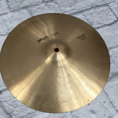Paiste 14 404 Black Label Hi Hat Cymbal Pair
