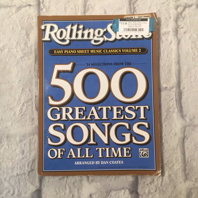 Alfred Rolling Stone Easy Piano Sheet Music Classics Volume 2