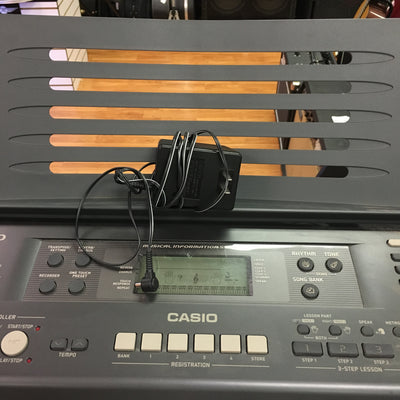 Casio WK110 with power supply