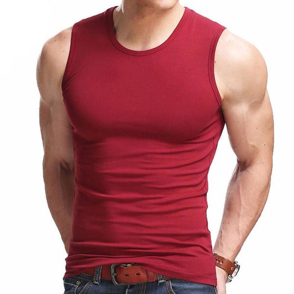 Flexible Sleeveless Summer Vest - Men