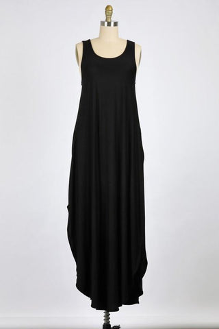 Criss Cross Back Maxi