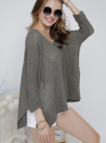 Loose Fit Light Sweater