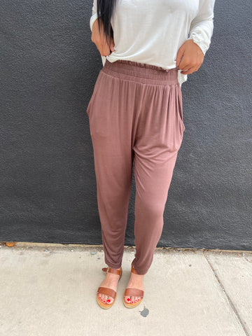 Loose Fit Knit Pants