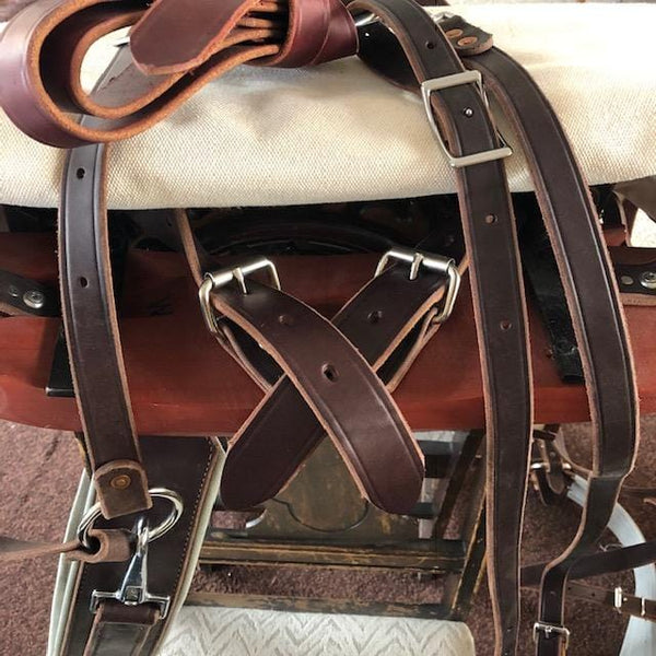 Hickman Deluxe Decker Pack Saddle