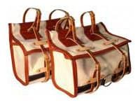 Donkey or Llama Canvas Pack Panniers