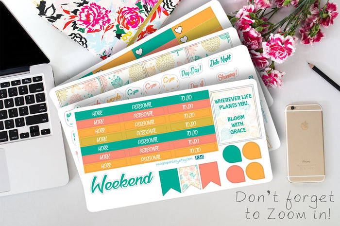 Bloom With grace weekly kit