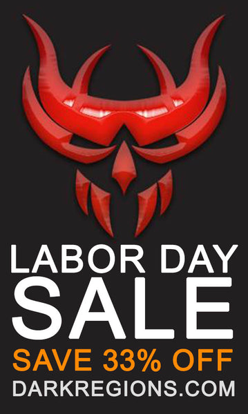 LABOR DAY WEEKEND SALE Save Up to 33% OFF from Dark Regions Press for a Limited-Time Only!