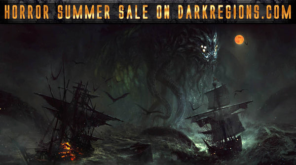 Pirates of the Old World Deluxe Hardcover Included with One Horror Summer Sale Order!