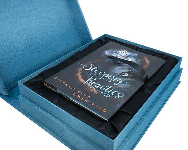 RARE Deluxe Signed 52 Lettered Traycased Hardcover of Sleeping Beauties by Stephen King and Owen King Now on eBay!