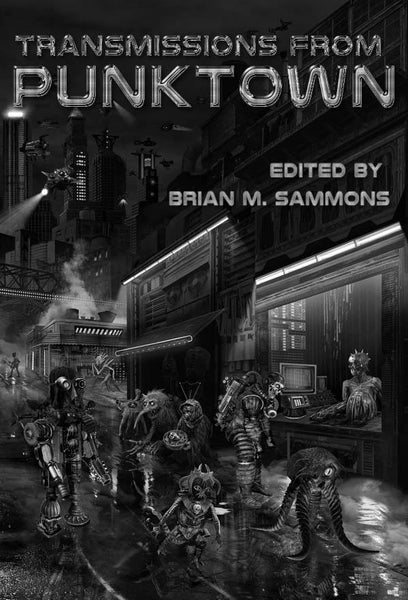 Announcing New Punktown Deluxe Hardcover from Dark Regions Press