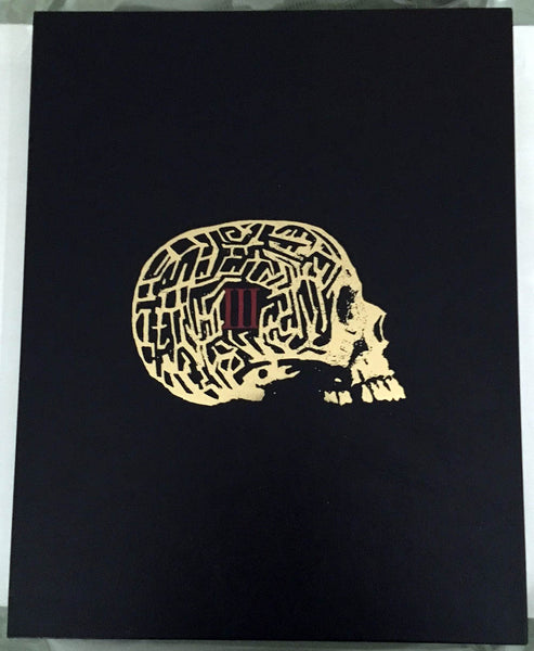 SPECIAL on Black Labyrinth Book III: The Booking by Ramsey Campbell Ultra-Deluxe Traycased Shadow Tome Edition!
