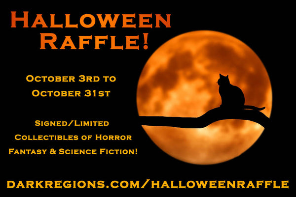 Halloween Raffle from October 3rd to October 31st 2019!