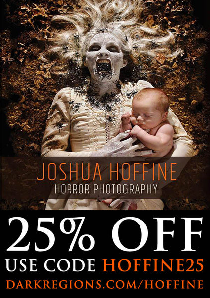 25% OFF Joshua Hoffine Horror Photography Book Limited Time Only!