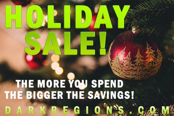 Holiday SALE from Dark Regions Press - Save Up to $200 Off Your Order!