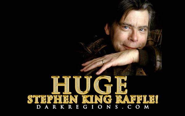HUGE Stephen King Raffle with Over $1,000 in Prizes September 2018