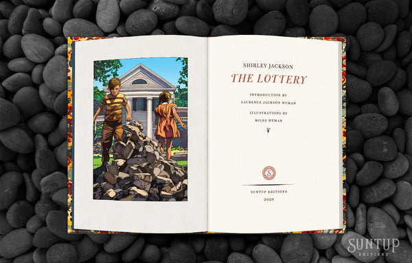 BREAKING - The Lottery by Shirley Jackson Signed & Numbered Hardcover - 3 Copies Available on a First-Come First-Serve Basis by Contacting Us