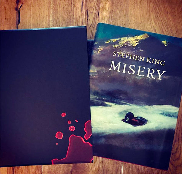 Stephen King's Misery Limited Slipcased Artist Gift Edition Going to One Lucky Dark Regions Press Customer by April 30th!