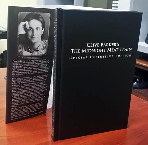 WEEKEND SALE - Win Clive Barker's The Midnight Meat Train Deluxe Hardcover