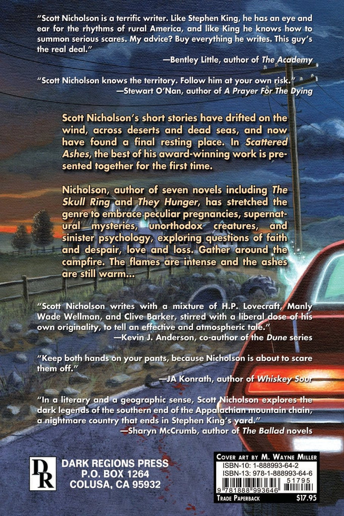 Horror summer sale page 2 dark regions press scattered ashes by scott nicholson fandeluxe Choice Image