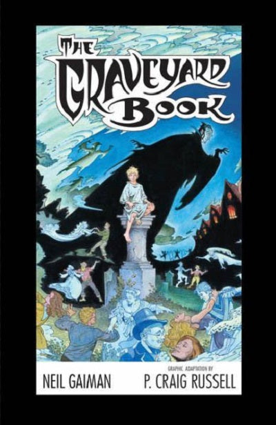 The Graveyard Book Cover Art : The graveyard book graphic novel by neil gaiman deluxe