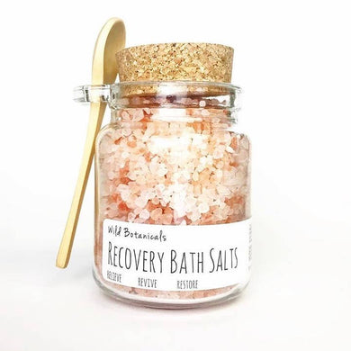 Cork Jar of Lavender Bath Salts