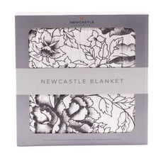 American Rose and White Newcastle Blanket