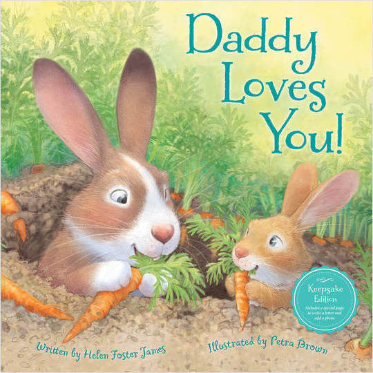Daddy Loves You Children Picture Book