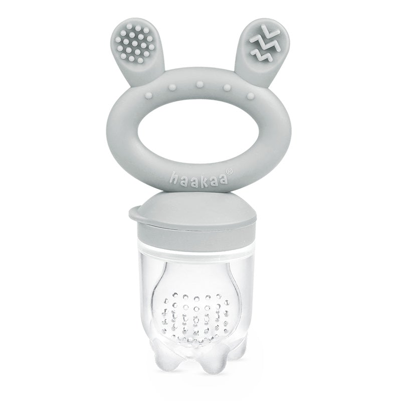 2-Way Zip Romper - Black & Grey