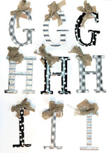 Mud Pie Initial Ornament