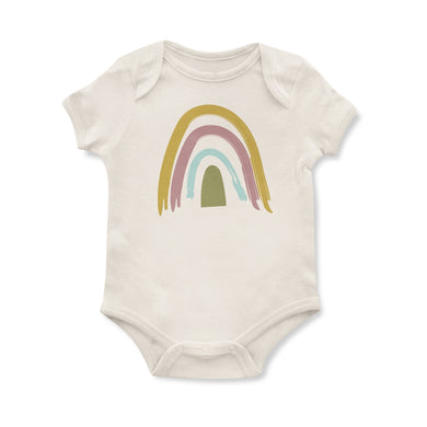 Neutral Rainbow Onesie