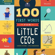 100 First Words for Little CEO