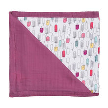 Popsicles & Cherry Oh So Soft Muslin Snuggle Blanket