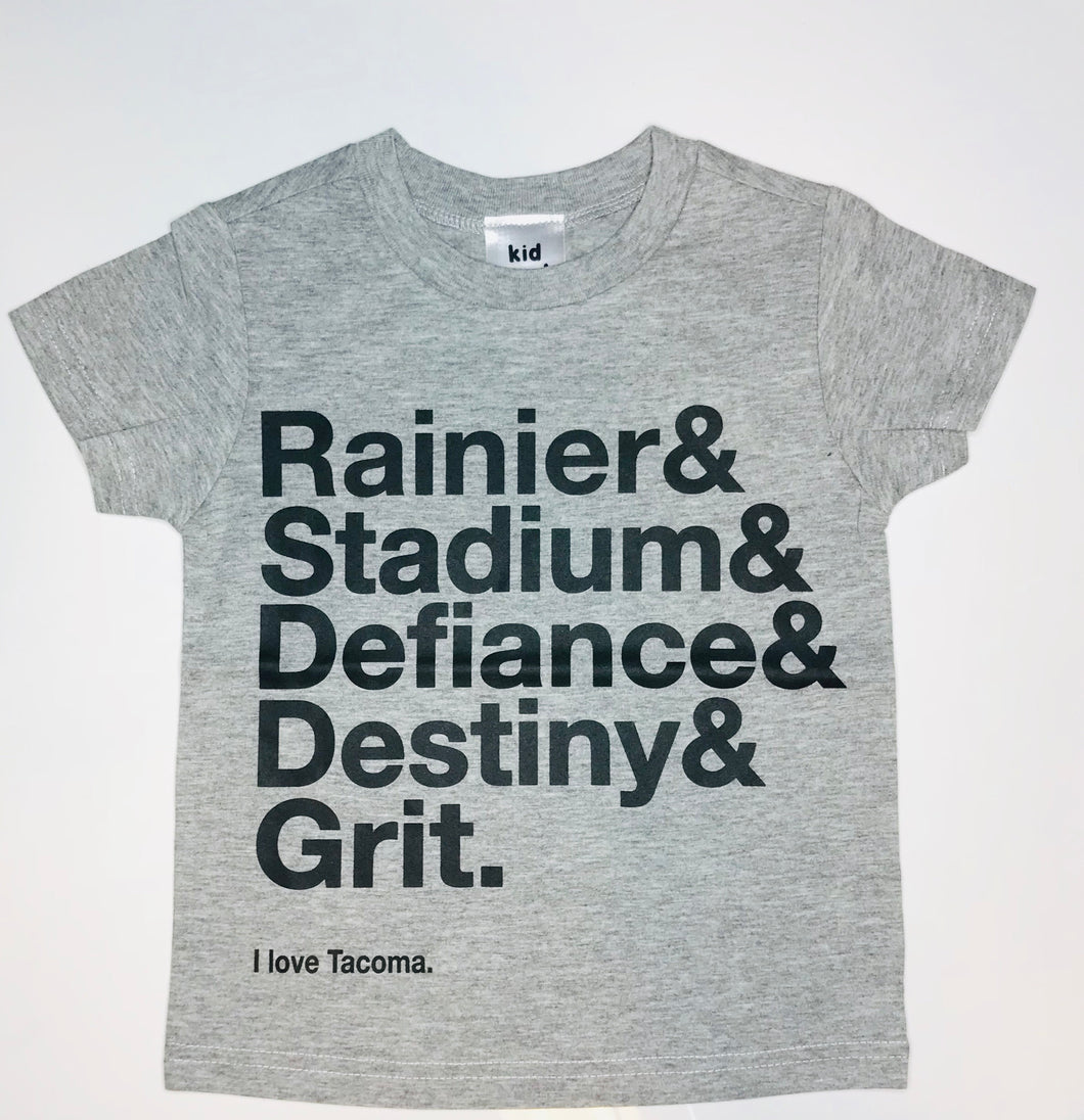 Grit City Tee - Grey