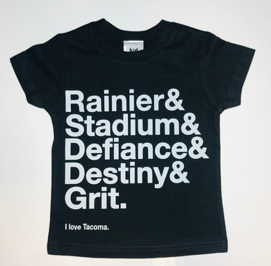 Grit City Tee - Black
