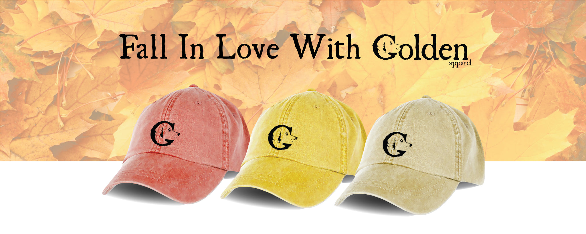 Fall in Love with Golden Apparel