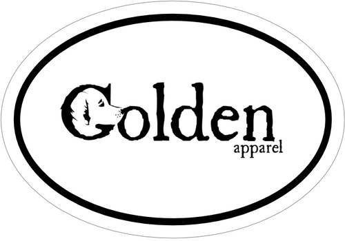 Golden Apparel Car Magnet