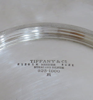 10.5 in - Sterling Silver Tiffany & Co. Antique Openwork Plate